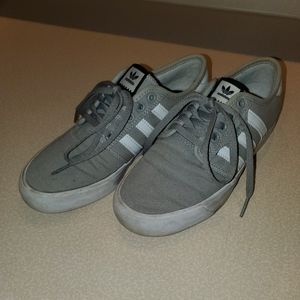 Heather Gray Adidas Shoes